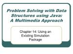 problem solving with data structures using java a multimedia approach