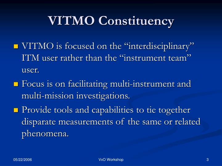 VITMO Constituency
