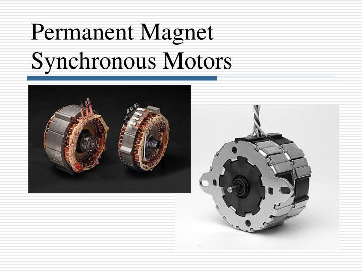 ppt permanent magnet synchronous motors powerpoint