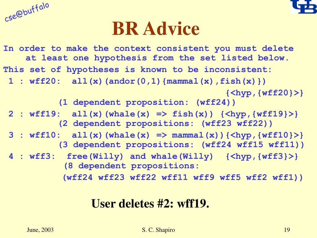 BR Advice