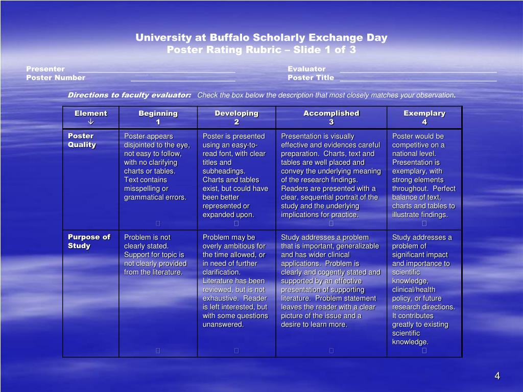 University at Buffalo Scholarly Exchange Day