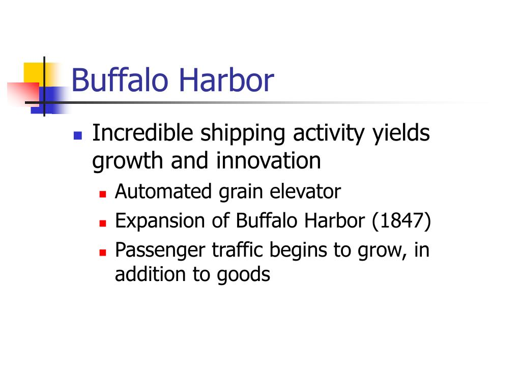 Buffalo Harbor