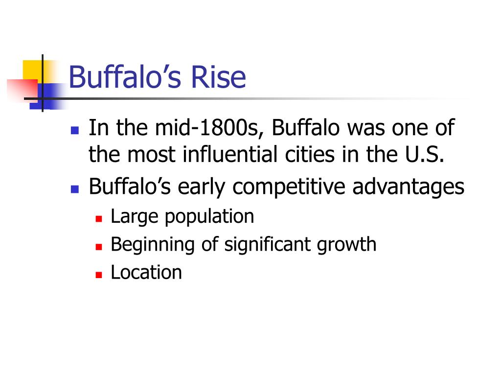 Buffalo's Rise