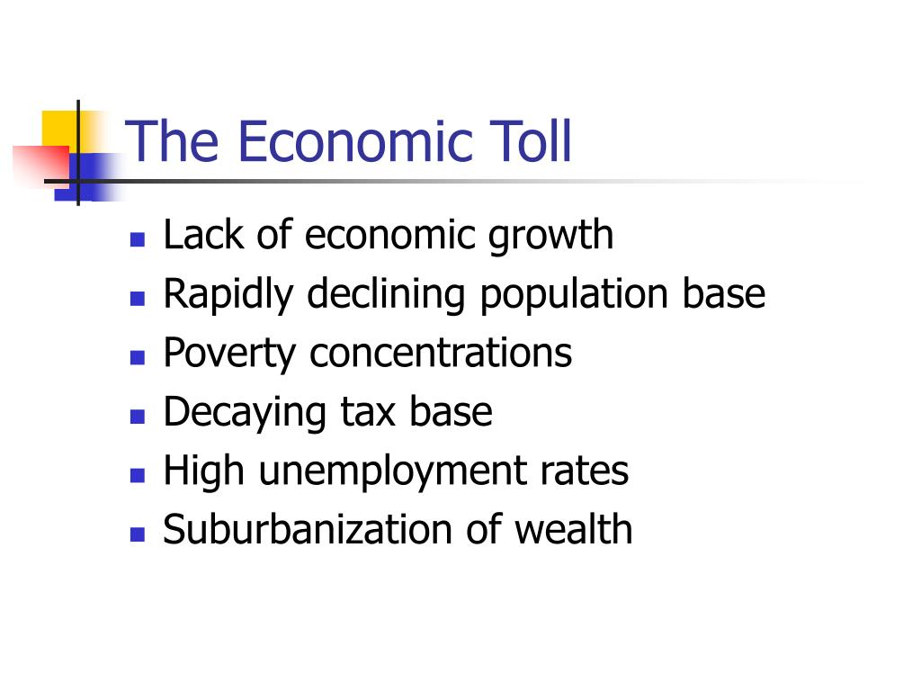 The Economic Toll