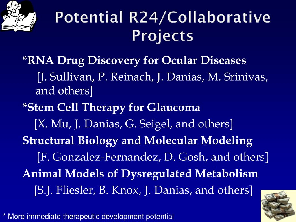 Potential R24/Collaborative Projects