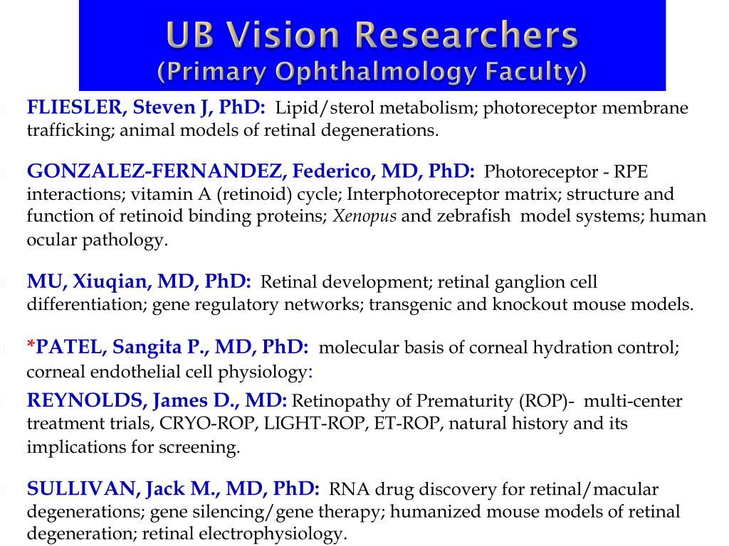 FLIESLER, Steven J, PhD: