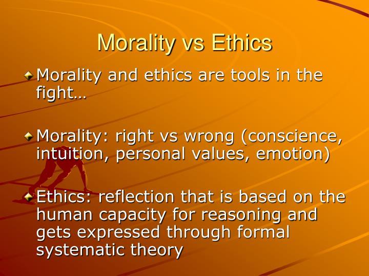 religion vs ethics