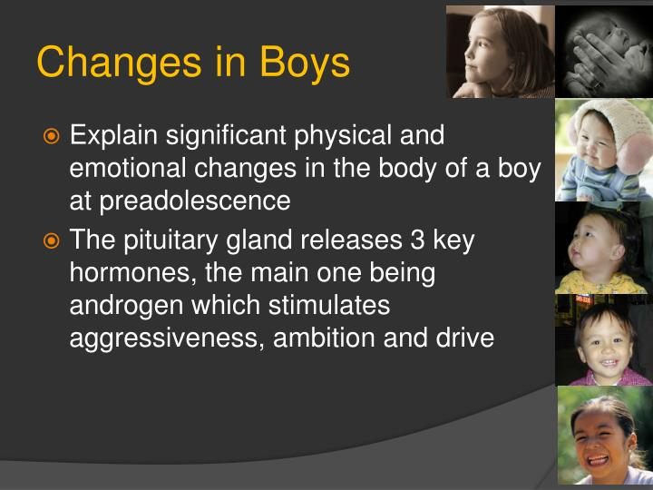 Changes in Boys