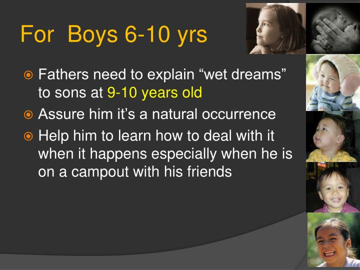 For  Boys 6-10 yrs