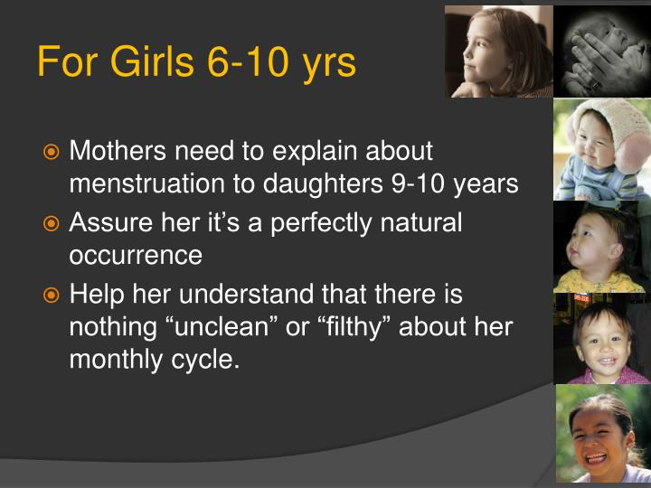 For Girls 6-10 yrs