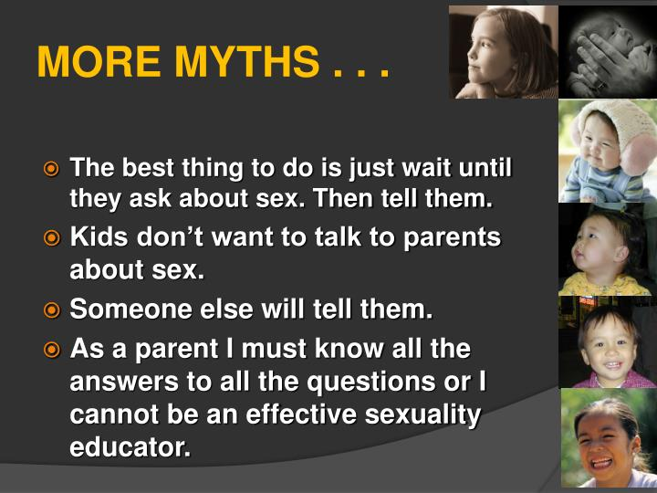 MORE MYTHS . . .
