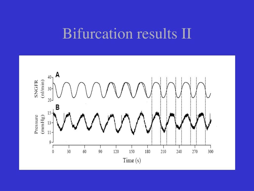 Bifurcation results II