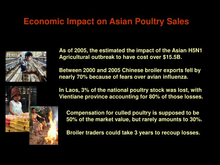 Economic Impact on Asian Poultry Sales