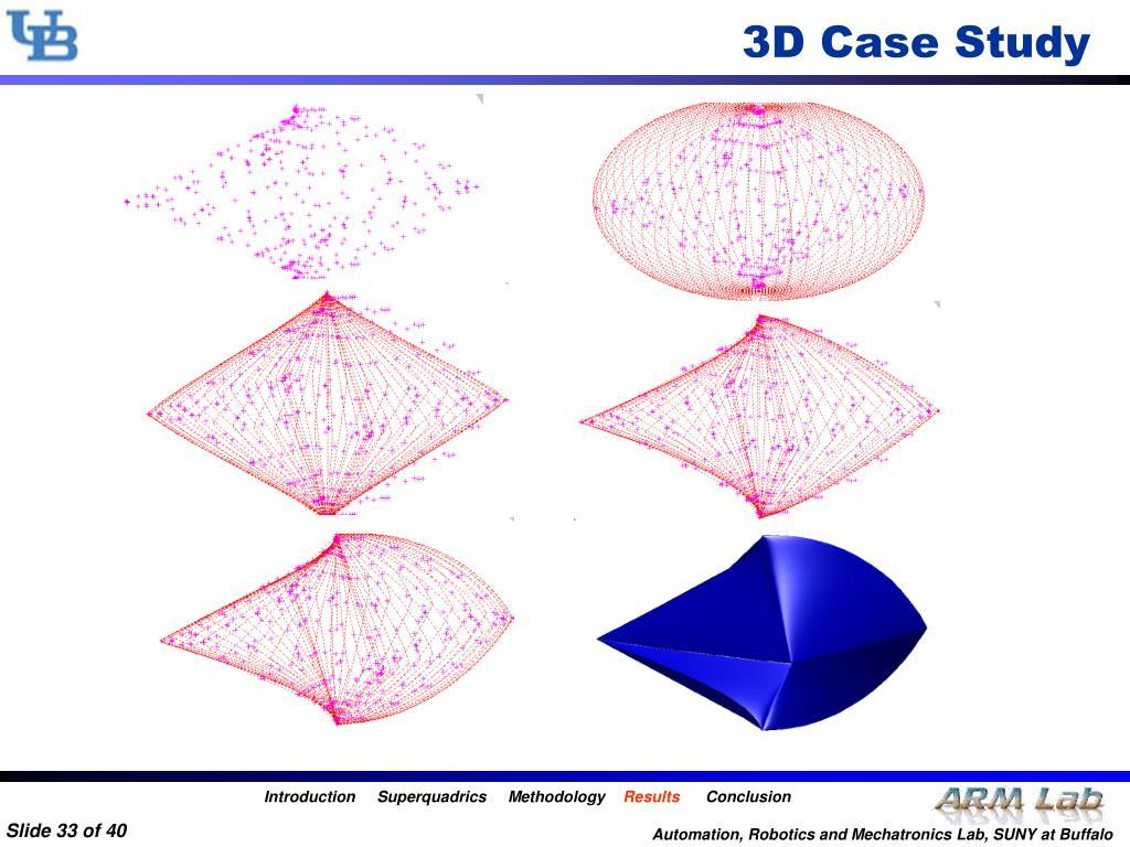 3D Case Study