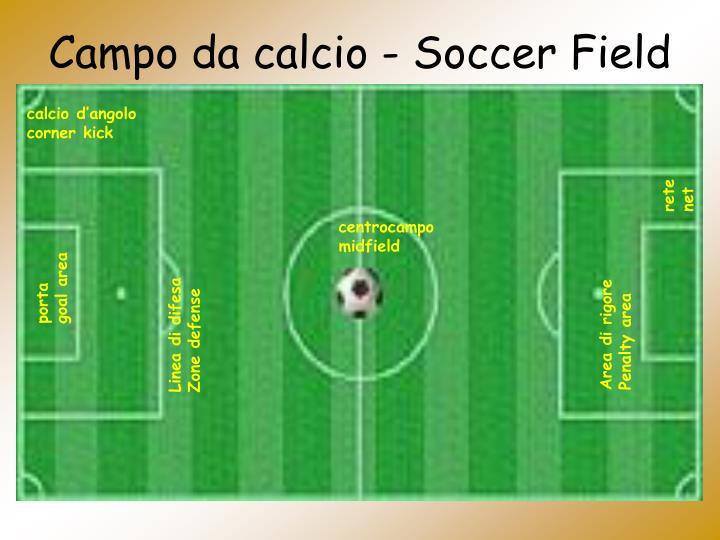 Campo da calcio - Soccer Field
