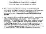 expectations faculty staff handbook iii university at buffalo academic policies7