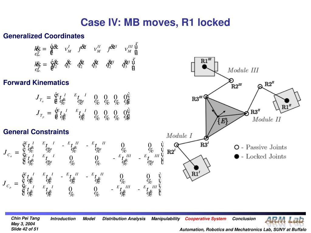 Case IV: MB moves, R1 locked