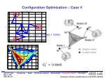 configuration optimization case v