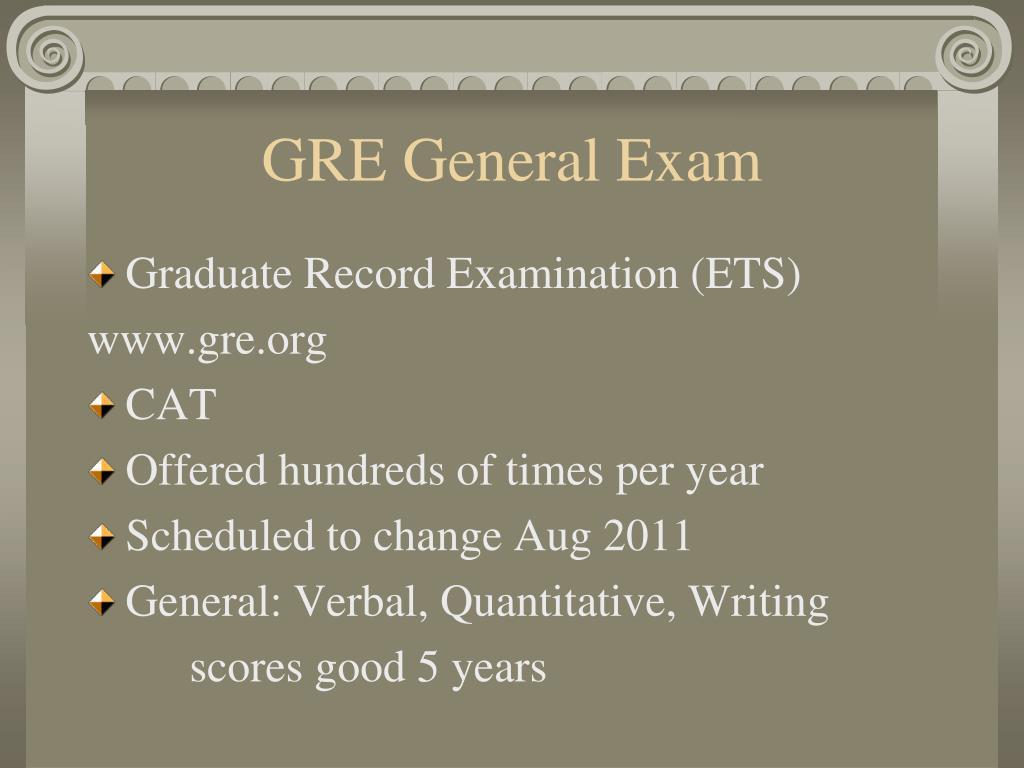 GRE General Exam