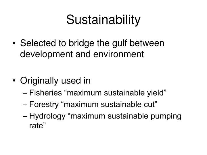 Ppt sustainable development powerpoint presentation id for Sustainable fishing definition