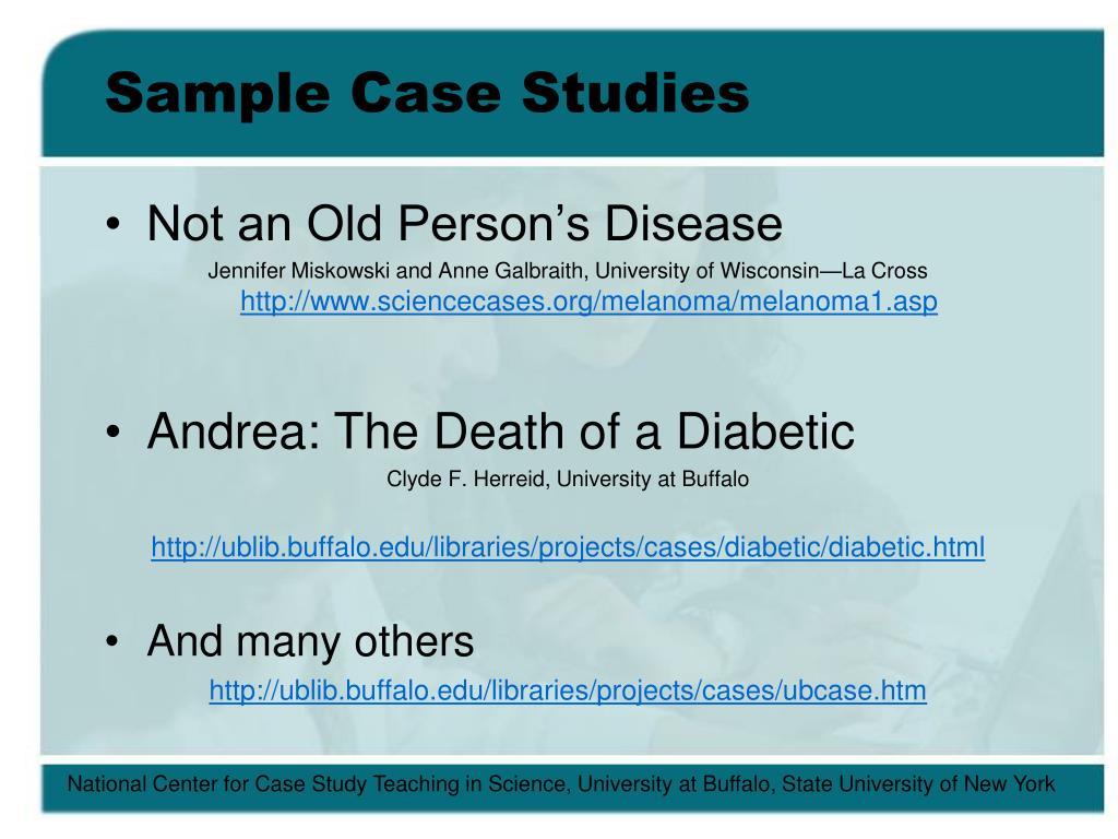 Sample Case Studies