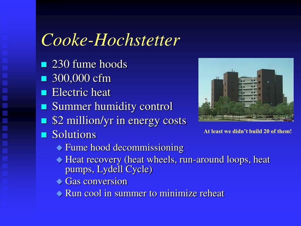 Cooke-Hochstetter