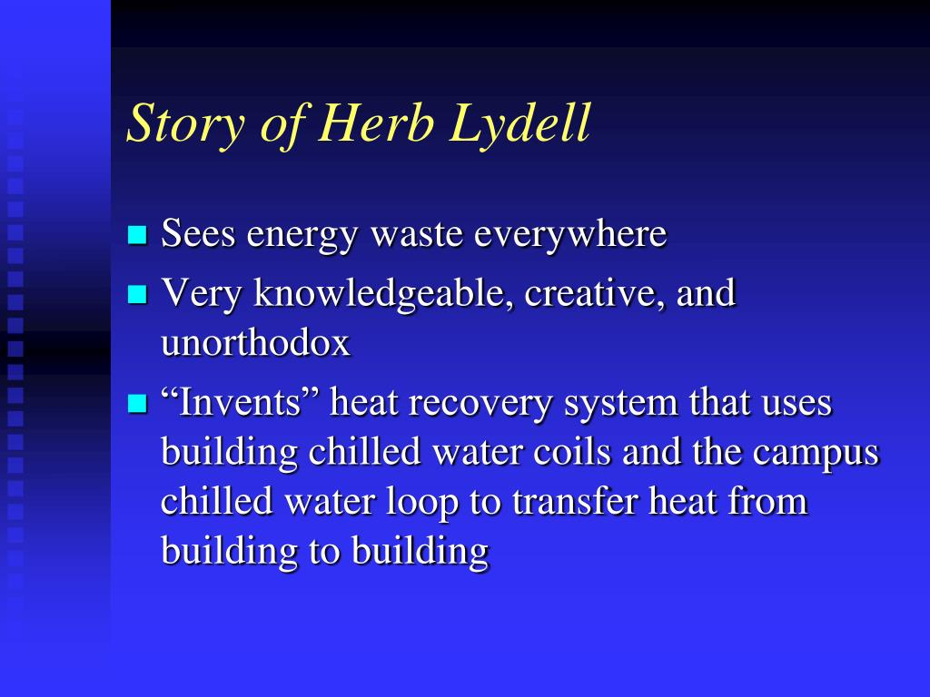 Story of Herb Lydell