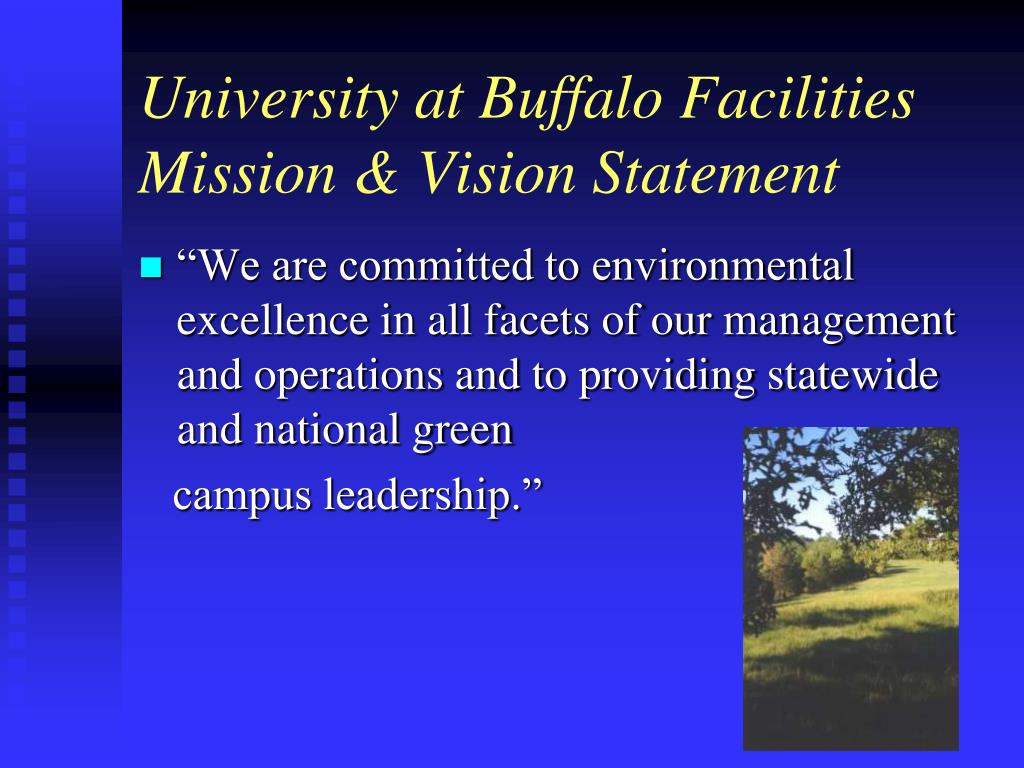 University at Buffalo Facilities