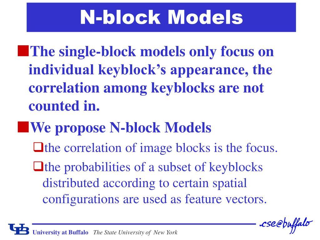 N-block Models