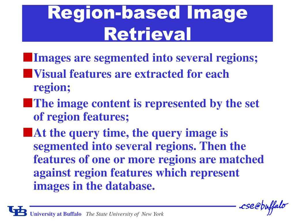 Region-based Image Retrieval