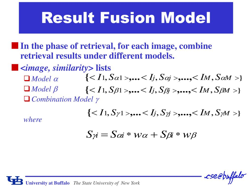 Result Fusion Model