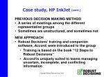 case study hp inkjet cont19