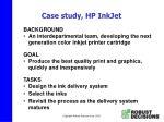 case study hp inkjet