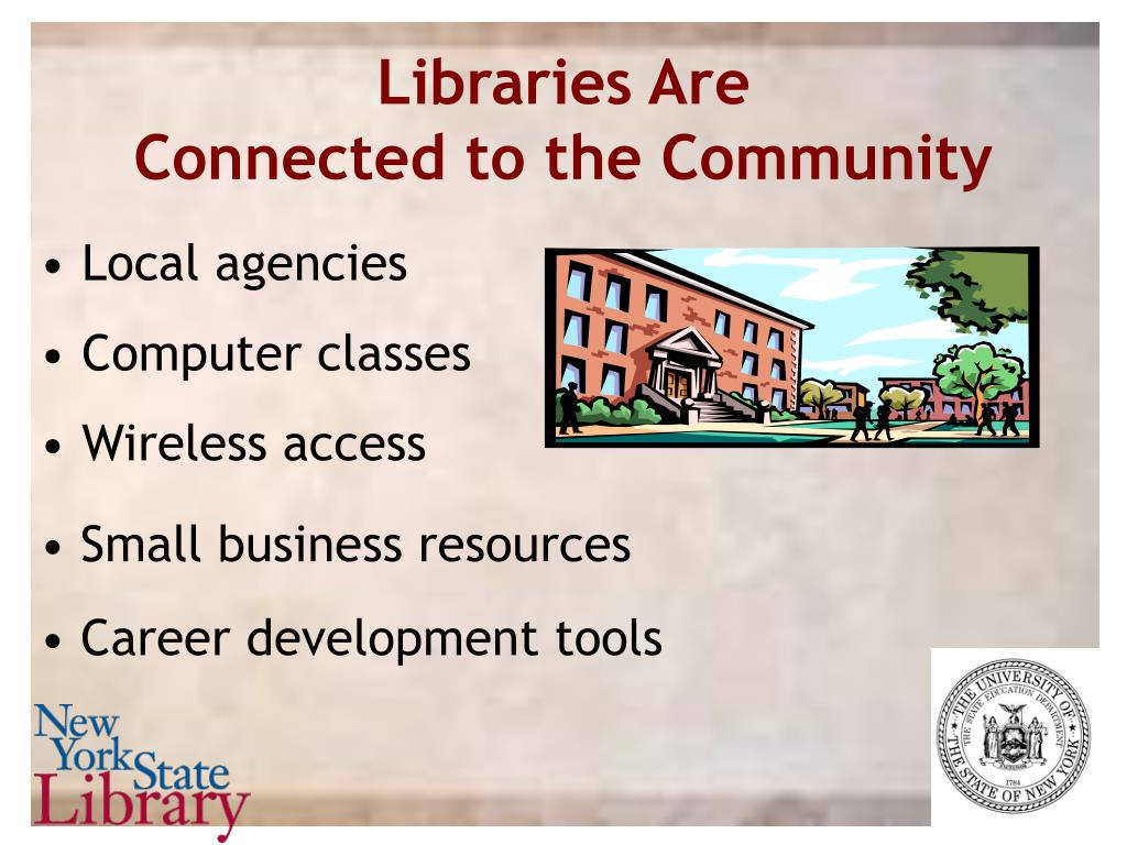 Libraries Are