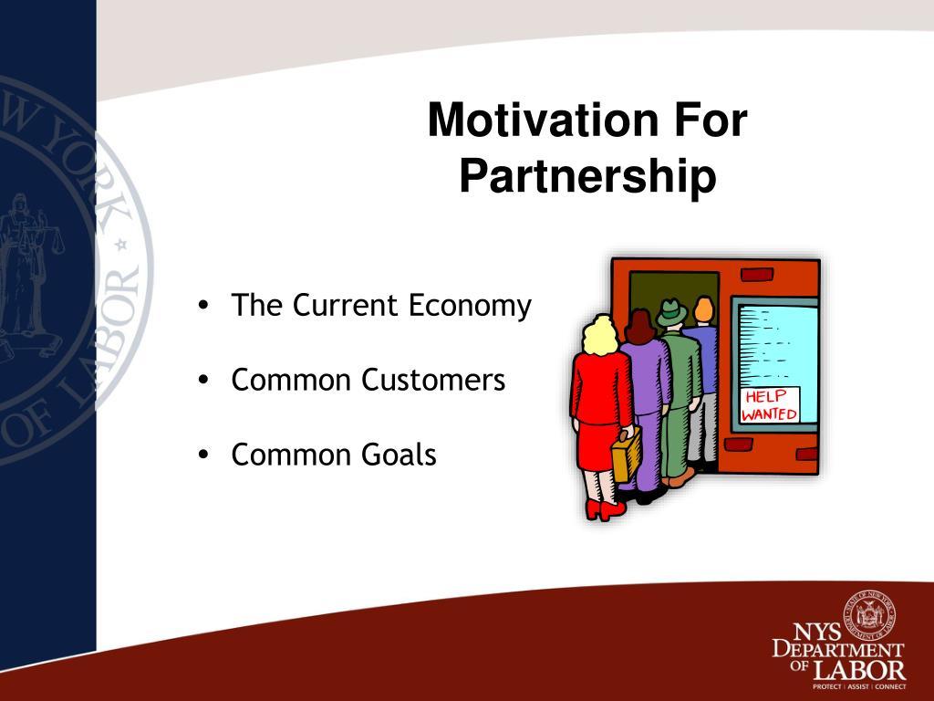 Motivation For Partnership