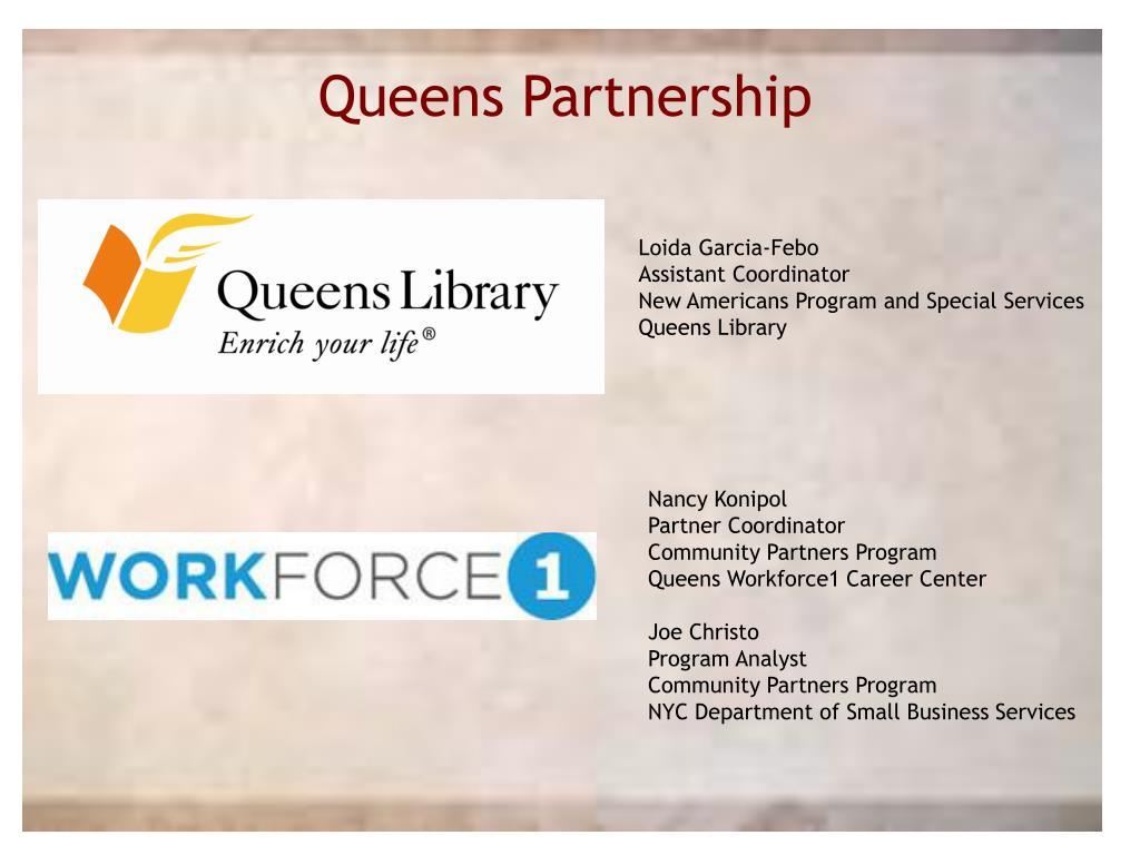Queens Partnership