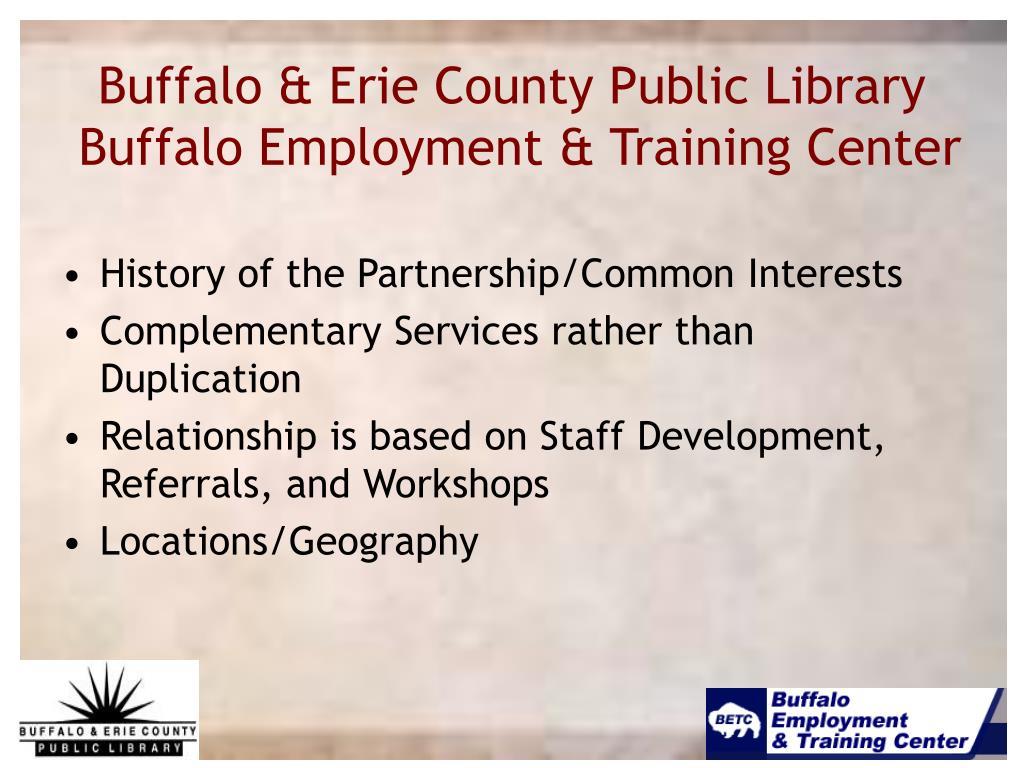 Buffalo & Erie County Public Library