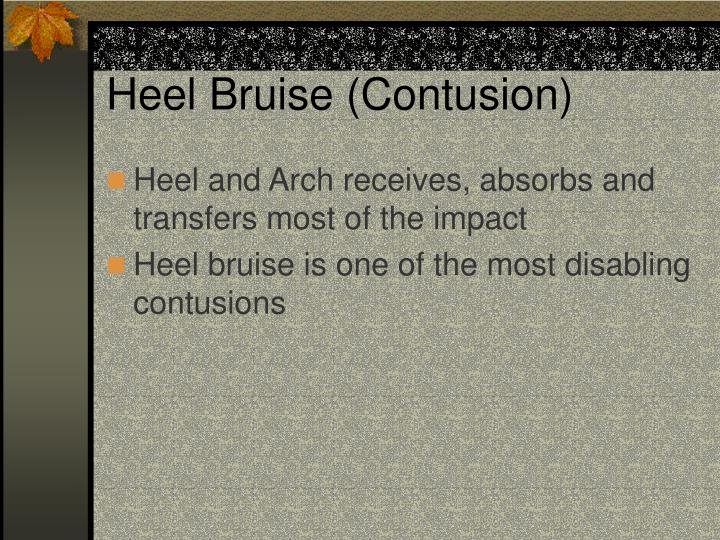 Heel Bruise (Contusion)