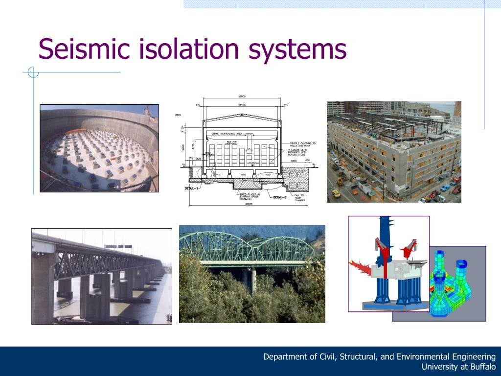 Seismic isolation systems
