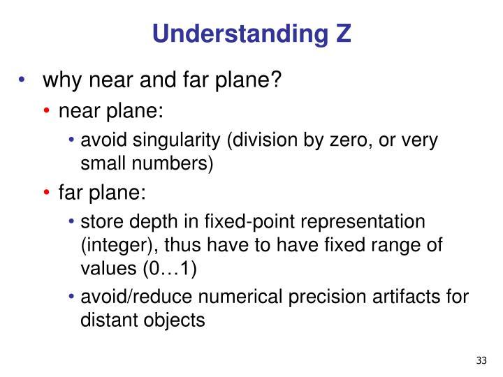 Understanding Z