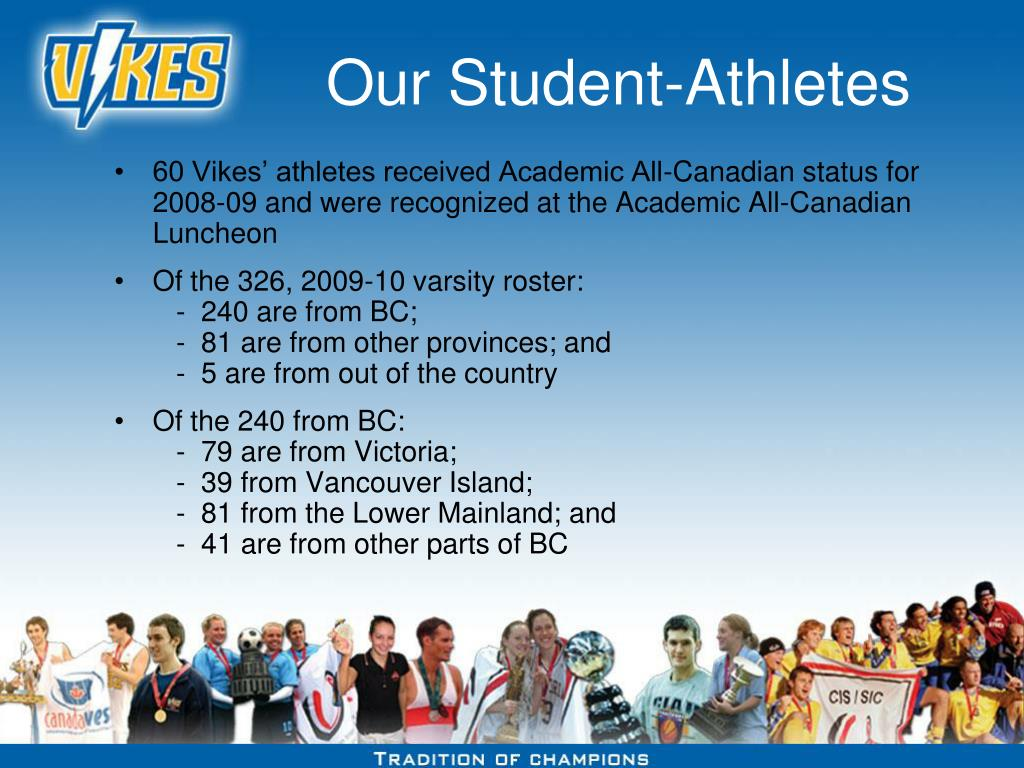 Our Student-Athletes