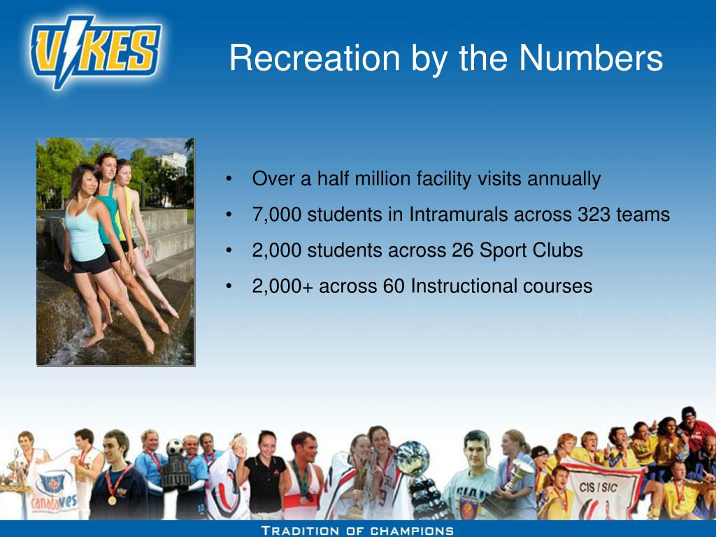 Recreation by the Numbers