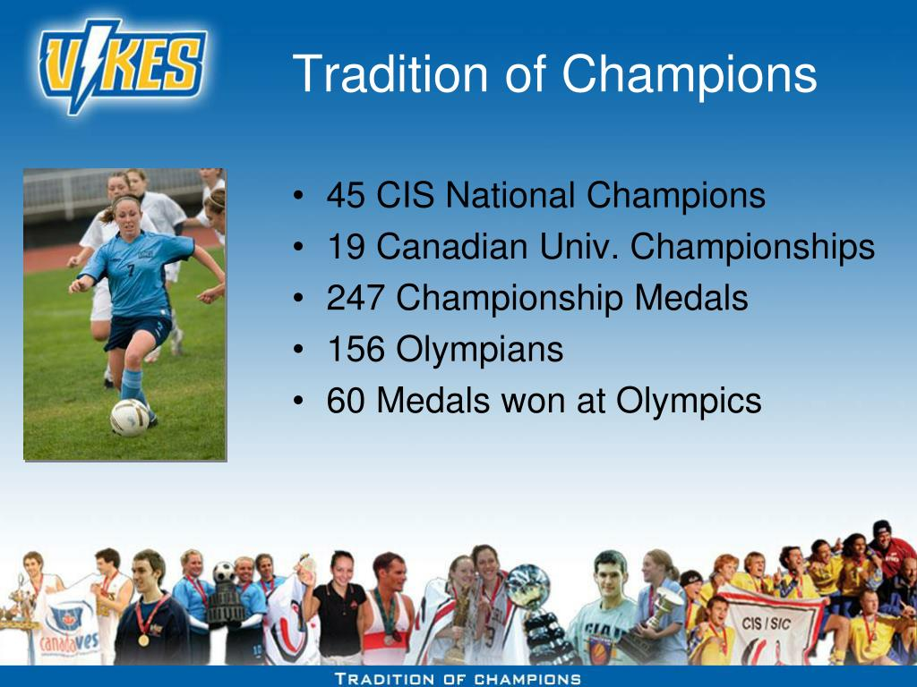 Tradition of Champions