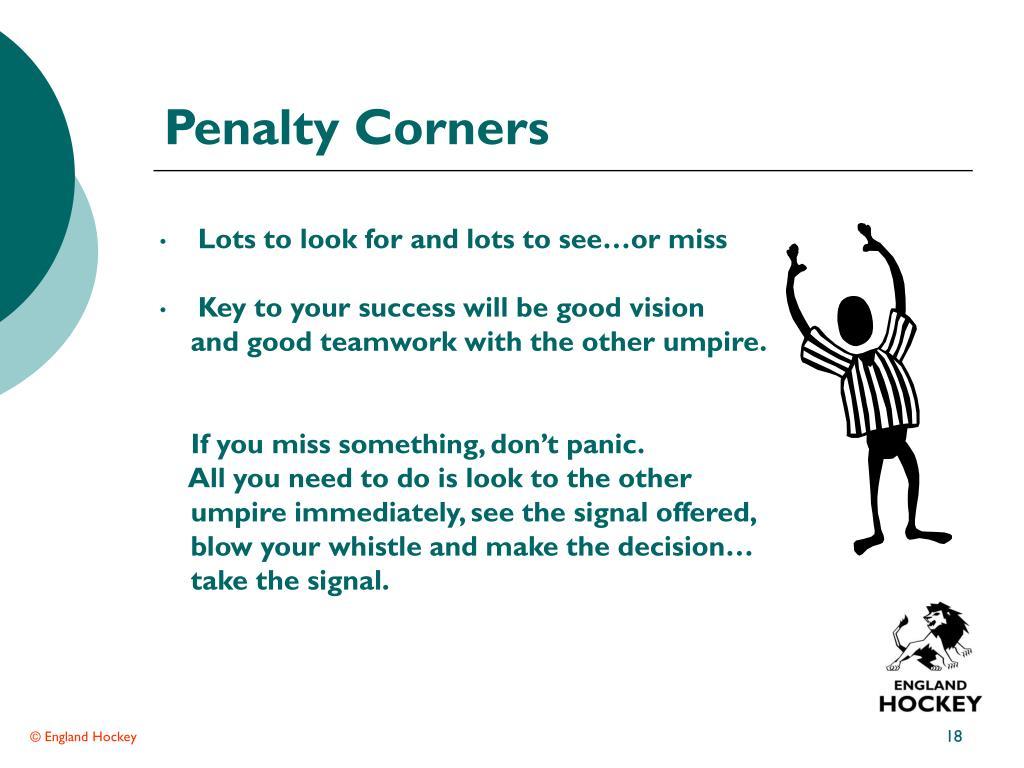 Penalty Corners