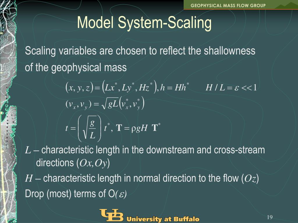 Model System-Scaling