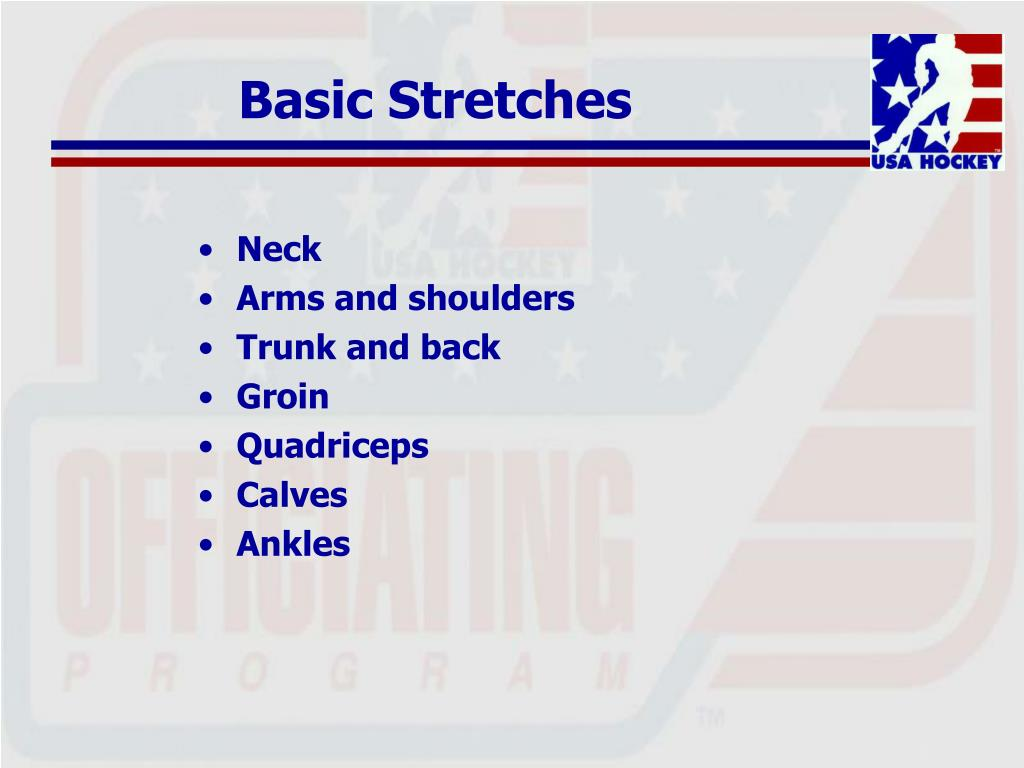 Basic Stretches