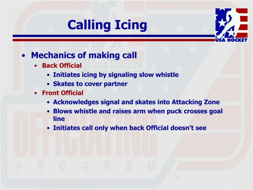 Calling Icing