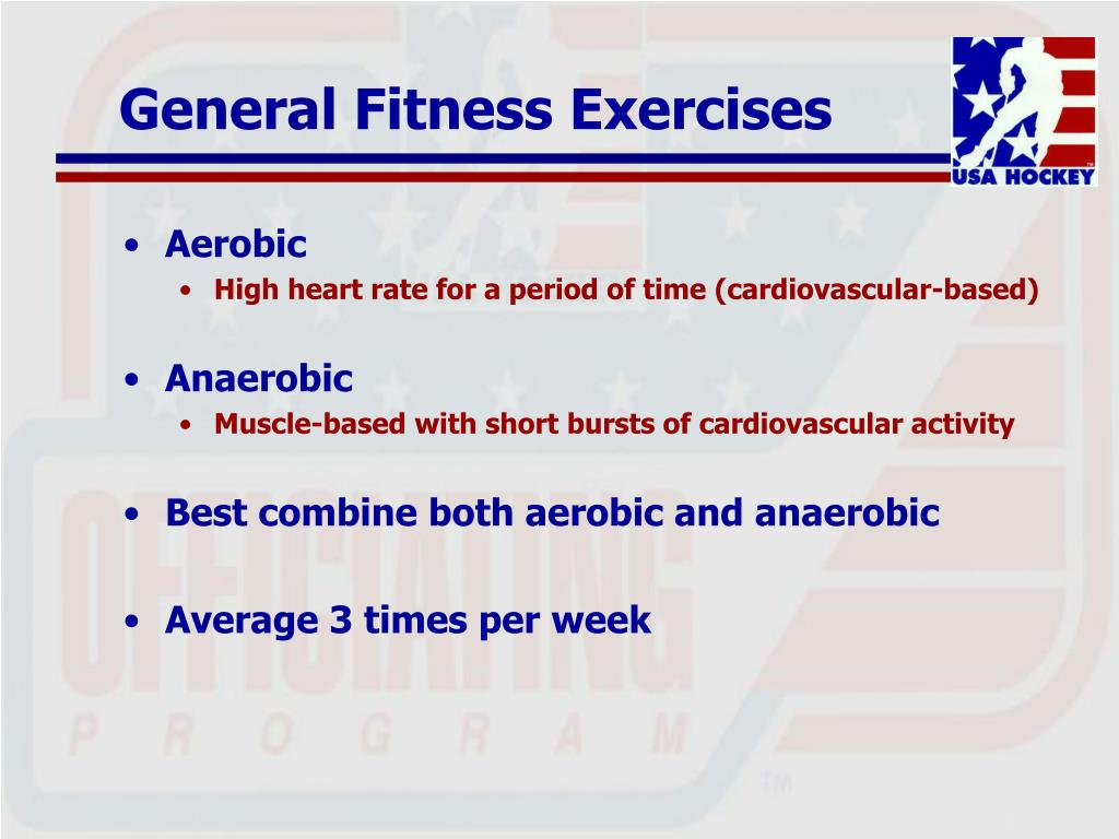 General Fitness Exercises