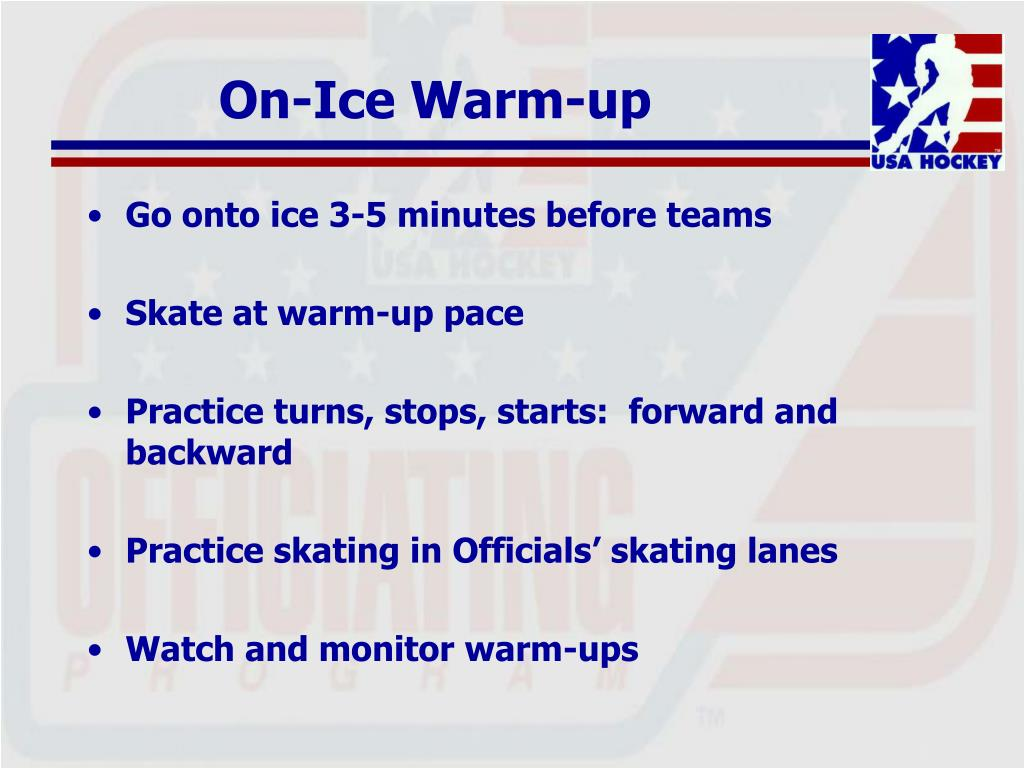On-Ice Warm-up