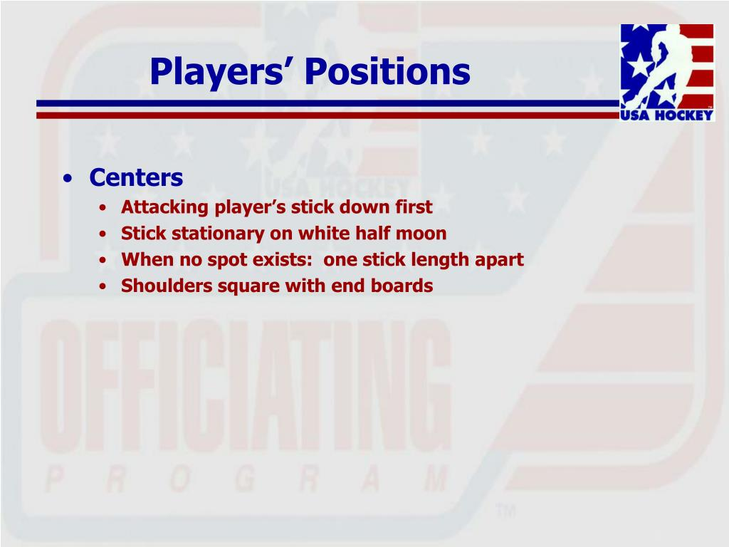 Players' Positions